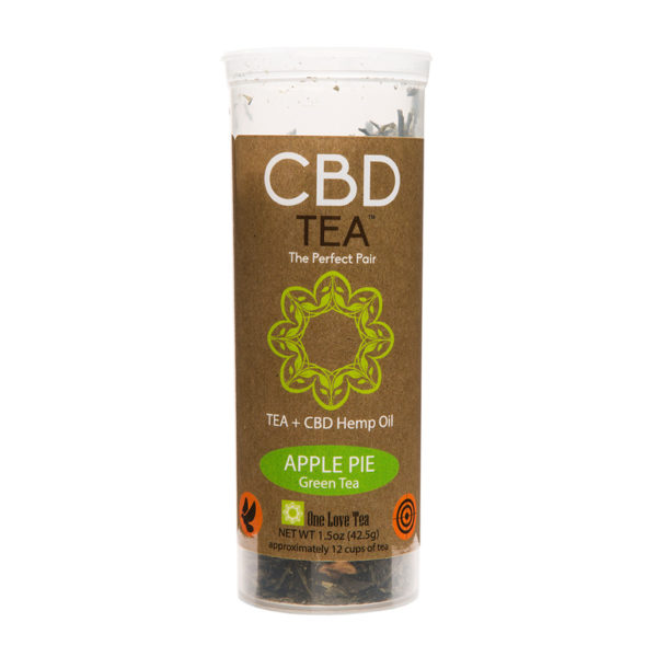 cbd tea cbd infused tea apple pie